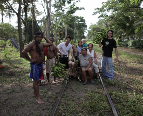 Crew at Coffee Plantation