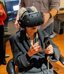 Henrietta VR headset